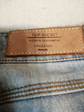 Top Secret spodnie jeans r. 36.