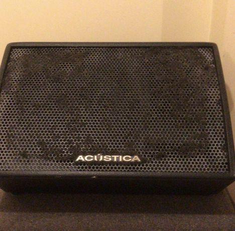 Monitor amplificado Acústica 300W
