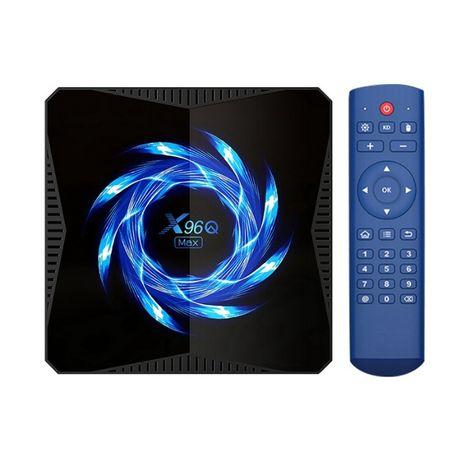 ТВ Приставка X96Q MAX 4/32 Smart TV Box Android 10 - лучше H96 Max