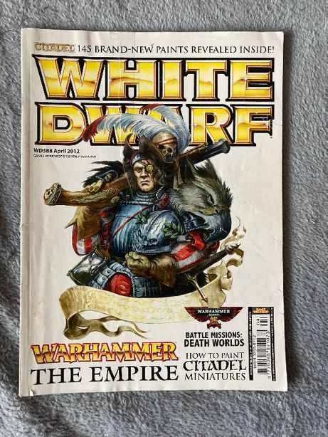 magazyn White Dwarf april 2012