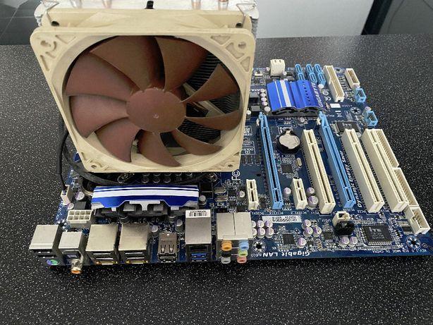 Комплект GYGABITE GA-P55A-UD3R+Intel Xeon X3450+16Gb+CNPS10X
