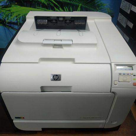 Принтер цветной HP Laser Jet Pro 400 M451dn Дуплекс Сеть