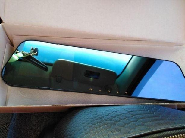 Зеркало видеорегистратор 2 камеры видеокамера в авто