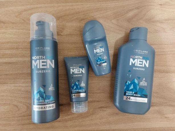 Zestaw męski North for Men Oriflame - kosmetyki.
