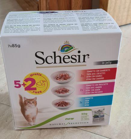 Gato Schesir comida húmida