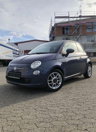 Fiat 500 benzyna 0,9 TWINAIR 86 KM 2011r klima BLU MIDNIGHT metalic