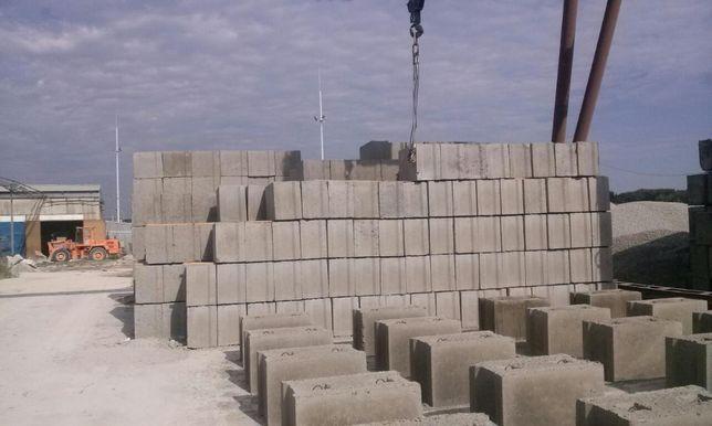 Кольца бетонн., блоки фунд., бетон, шлакоблок,плиты пк