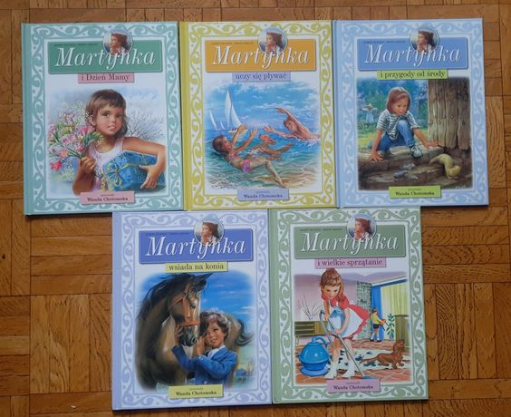 Książki dla dzieci z serii Martynka