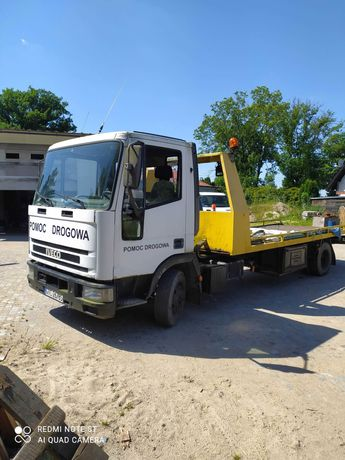 Sprzedam Iveco 75e15 orginalna pomoc drogowa platforma+ motyl