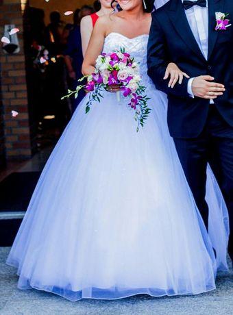 Przepiękna suknia ślubna SINCERITY + GRATISY
