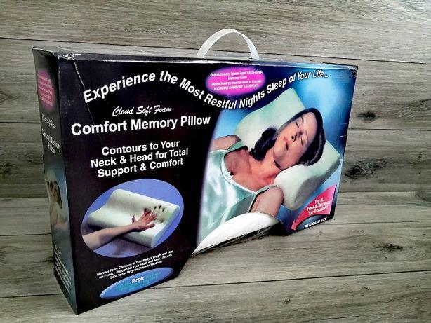 Poduszka ortopedyczna Piankowa Memory Pillow