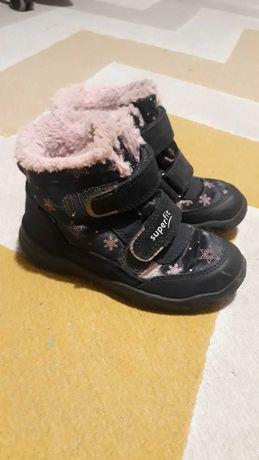 buty zimowe dla dziewczynki superfit goretex rozm 22
