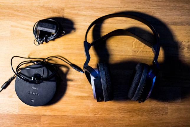 Słuchawki Sony - bezprzewodowe