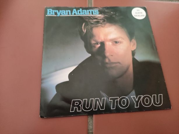 Disco Vinil Bryan Adams- Run To You