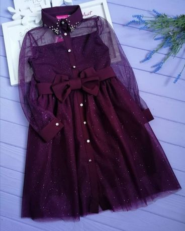 Замечательное платье на девочку рост 146