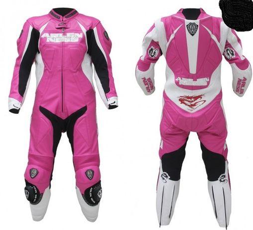 kombinezon motocyklowy damski różowy roz s arlen ness