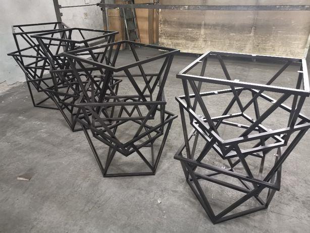 Produkcja stelaży pod stoły stoliki