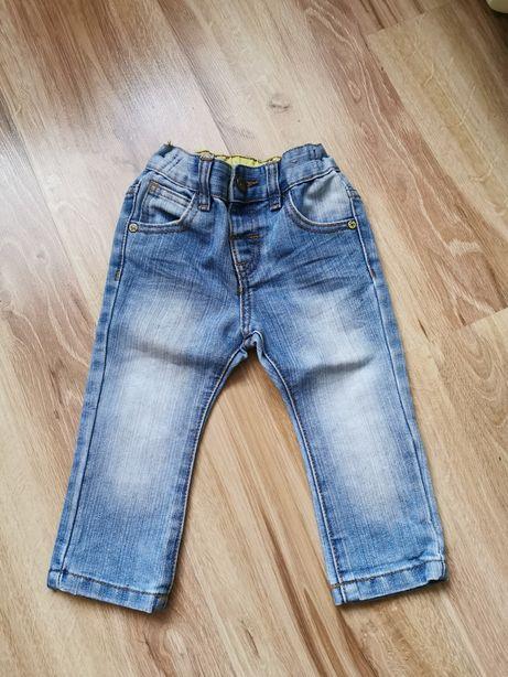 Spodnie jeansowe next 80