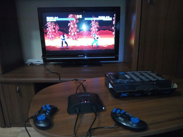 Sega Мagistr Х игровая приставка 16 bit