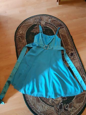 Sukienka turkusowa letnia