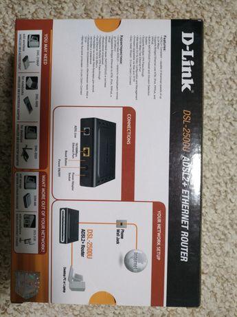 ADSL Modem D-LINK DSL-2500U ADSL2+ Ethernet Router