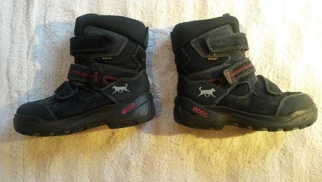 Buty zimowe kozaczki śniegowce ECCO 33 + gratis Taniej