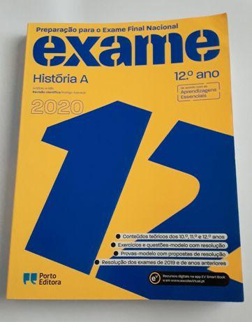 Livro de História A - Preparação para o Exame Final Nacional