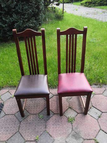 Hokery, krzesła, stoły