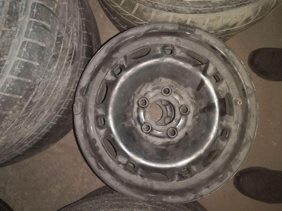 Оригинальные диски с резиной Volkswagen R14 5x100 Polo/Fabia/Ibiza Киев - изображение 1