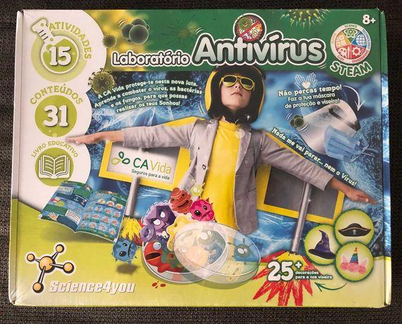 "jogo Science for You ""LABORATÓRIO ANTIVÍRUS"""