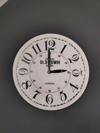 Zegar w stylu rustykalnym