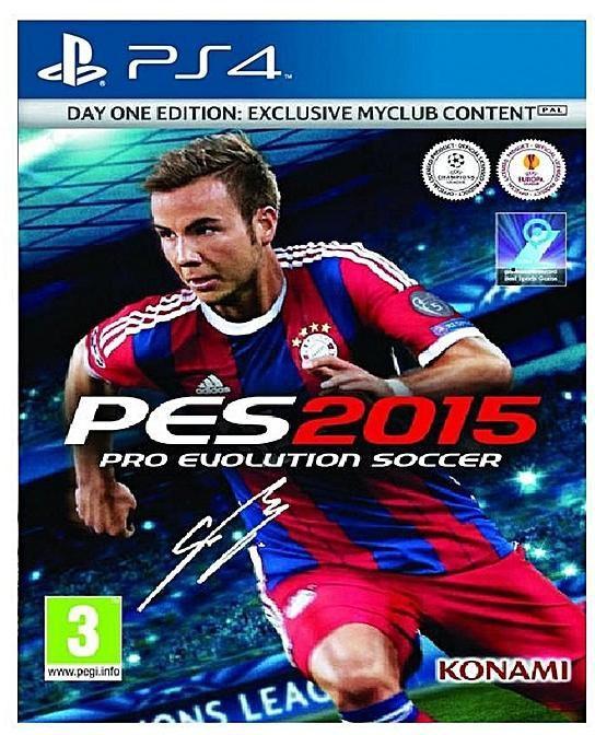 Pro Evolution Soccer 2015 (Playstation 4) PES 2015 | PS4 | Selo IGAC