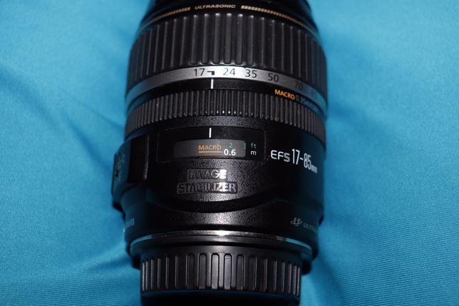Canon 17-85 f4-5.6 IS( с стабилизатором)