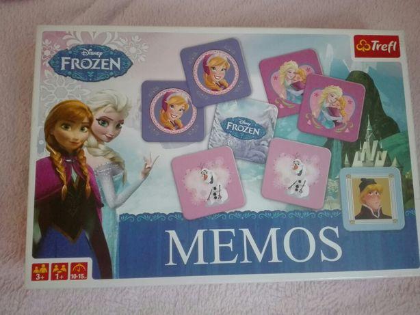 4 x Puzzle i memos Frozen - kraina lodu