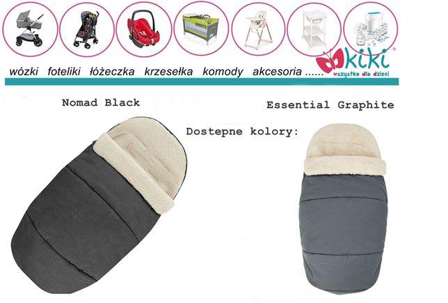 Maxi Cosi zimowy śpiworek 2w1 nomad black/essential graphite, grey