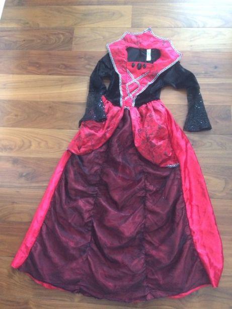 Sukienka przebranie czarownicy królewny