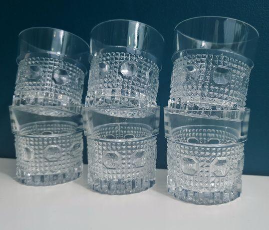 Szklane Kieliszki do wódki prl