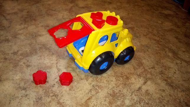 Джип сортер машинка 2 в 1 автомобиль трактор игрушка iграшки