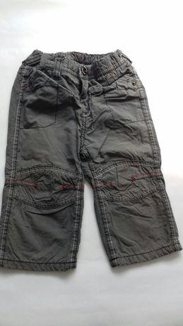 Spodnie ocieplane  rozm. 74
