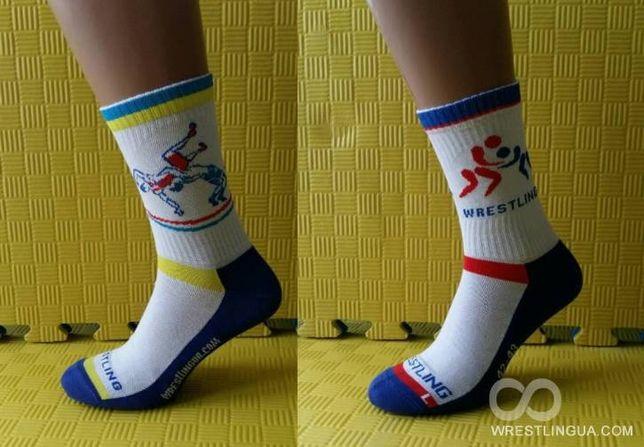 Борцовские носки Wrestling, Носки борцовки, носки с борцами для борьбы