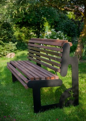 Ławki z wzorami ogrodowe ładne, ławka ogrodowa także na zamówienie