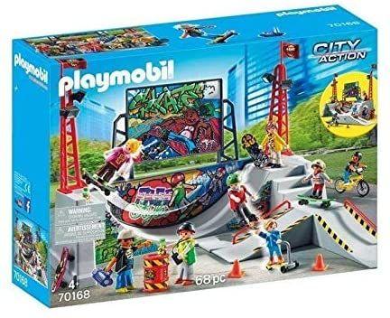 Playmobil 70168 Skatepark z Rampą OPIS