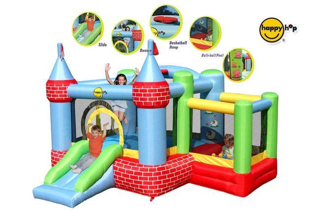 Dmuchany Zamek - Happy Hop - z basenem na kulki dmuchaniec plac zabaw