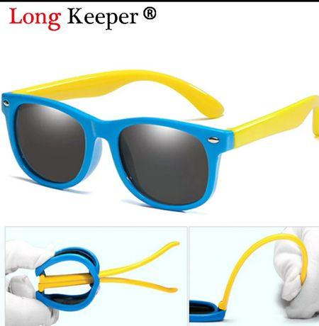 Детские гибкие солнцезащитные очки long keeper uv 400
