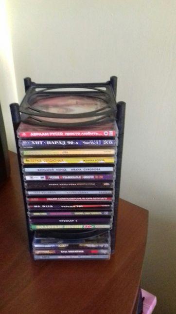 Підставки для дисків та касет