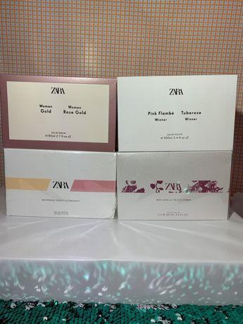 Комплект женских ароматов Zara,оригинальные духи от Zara