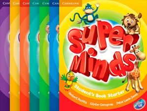 Друк книг Super Minds (starter,1,2,3,4,5,6)