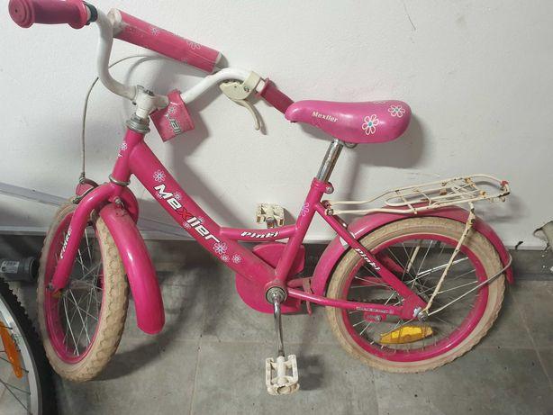 Rowerek dla dziewczynki 4-6 lat