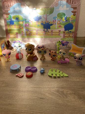 LPS Littlest Pet Shop Hasbro пет шоп петы набор зоопарк