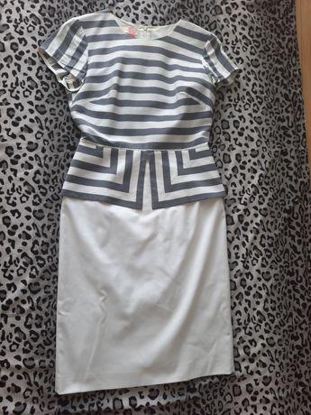 Sukienka na chrzest, komunię , elegancka, firmy Modesta 36 r.